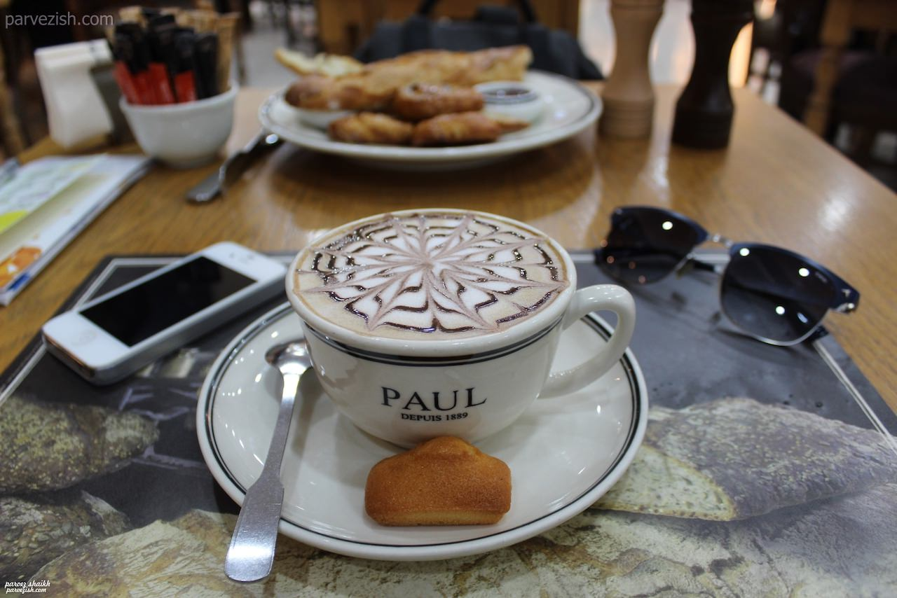 Coffee at PAUL, City Centre Deira, Dubai