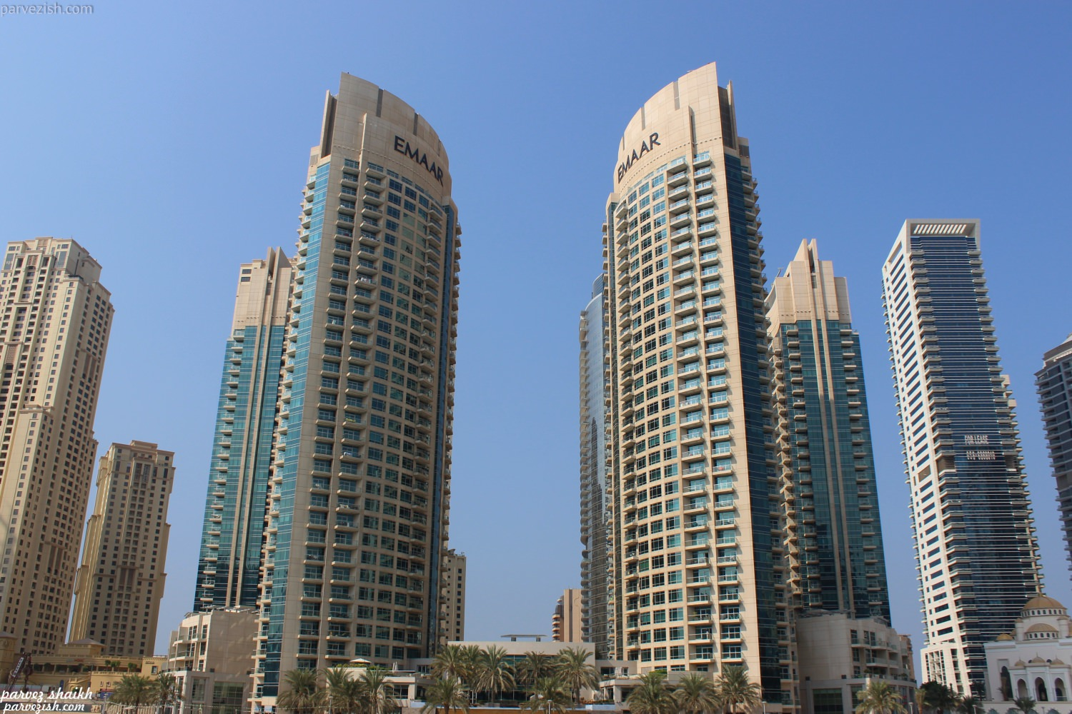 Emaar Towers Dubai Marina