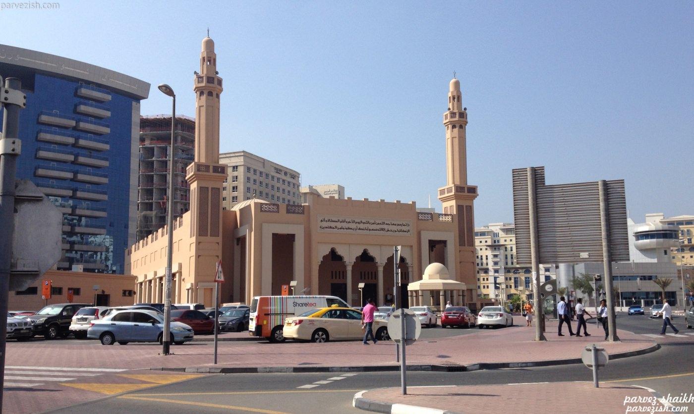 Khalefa Altajer Masjid - Dubai