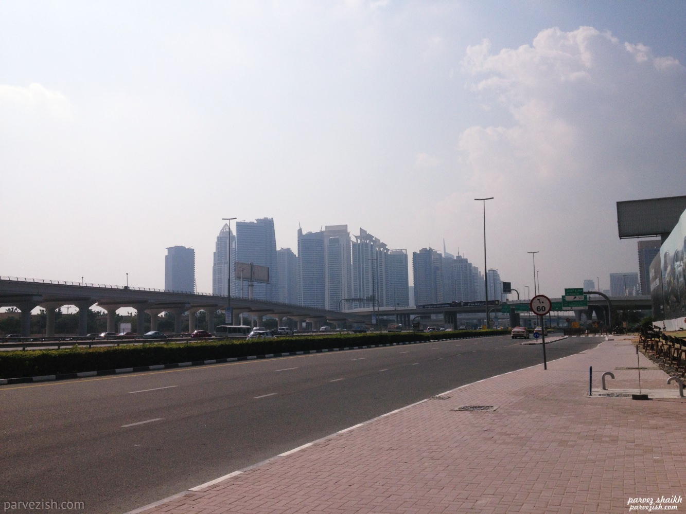 On Streets of Dubai - From Nakheel to Dubai Marina