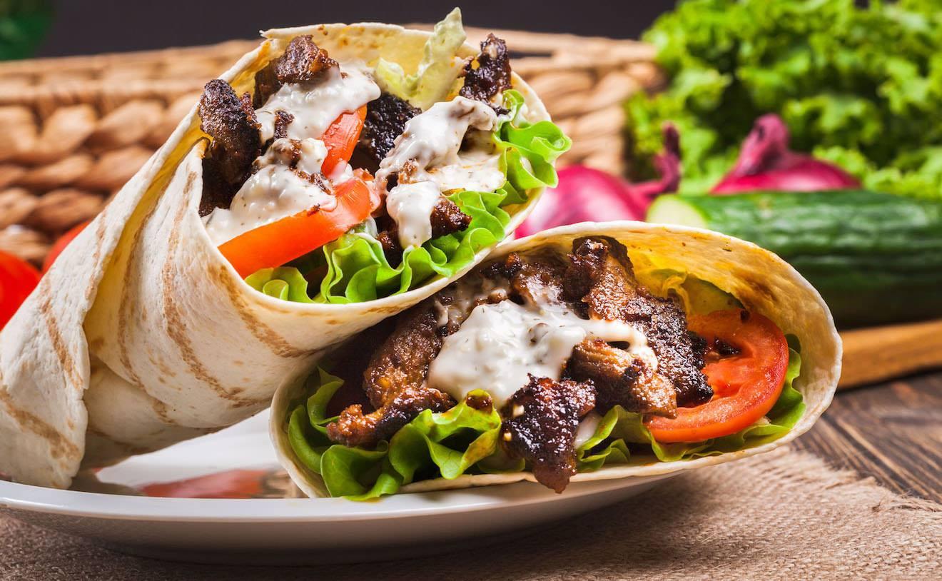 Shawarma Wrap Dubai