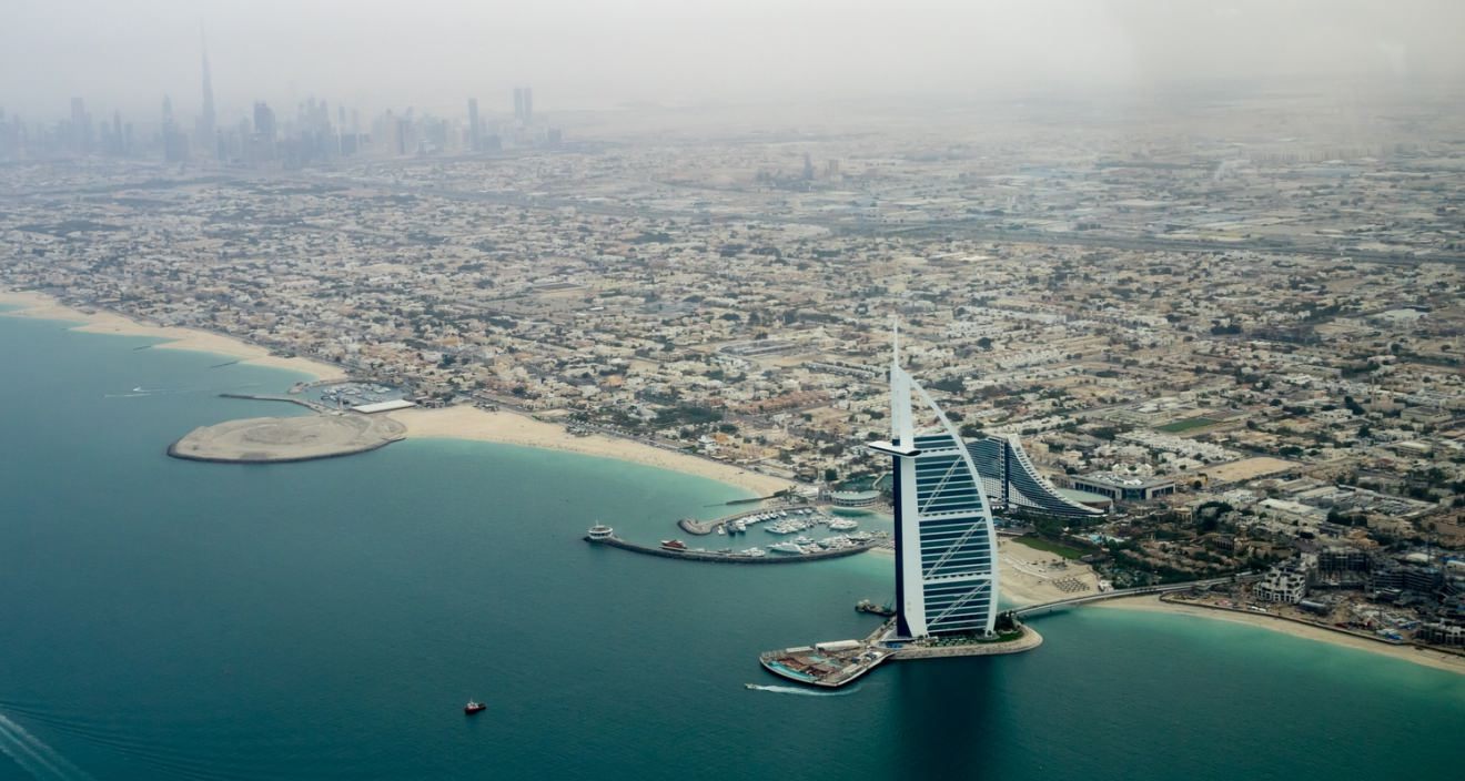 A Bus Ride from The Golden City Of Dubai To Abu Dhabi - The Capital Of UAE