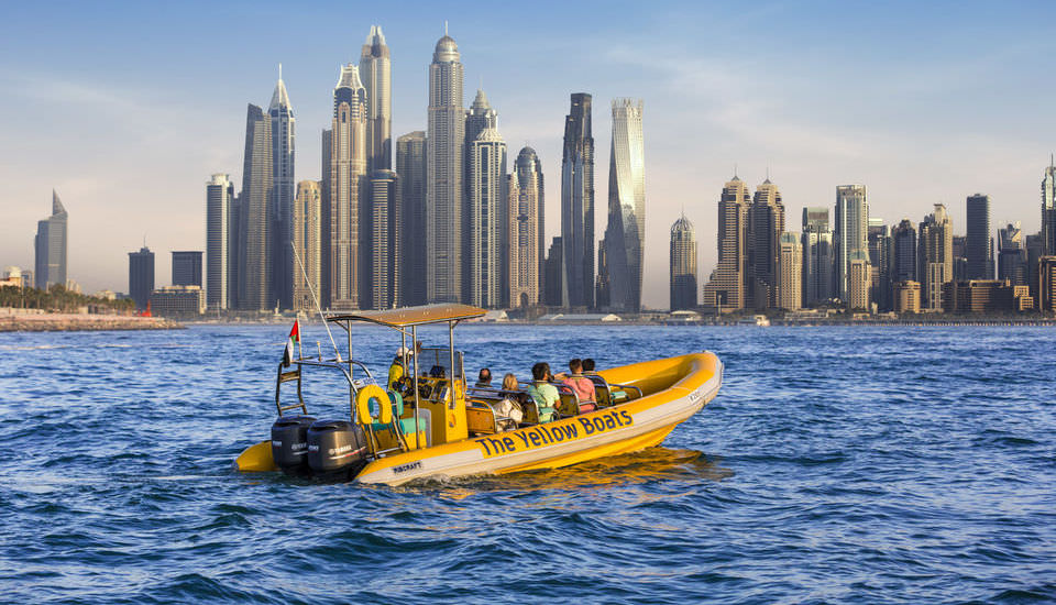 Dubai Guided Sightseeing Boat Tour