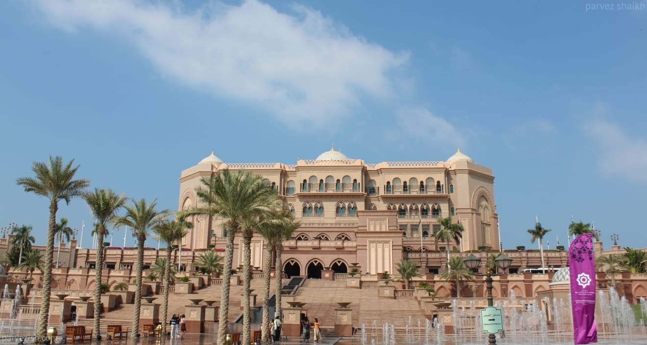 Emirates Palace, Abu Dhabi - A Must Visit Destination in the UAE Capital
