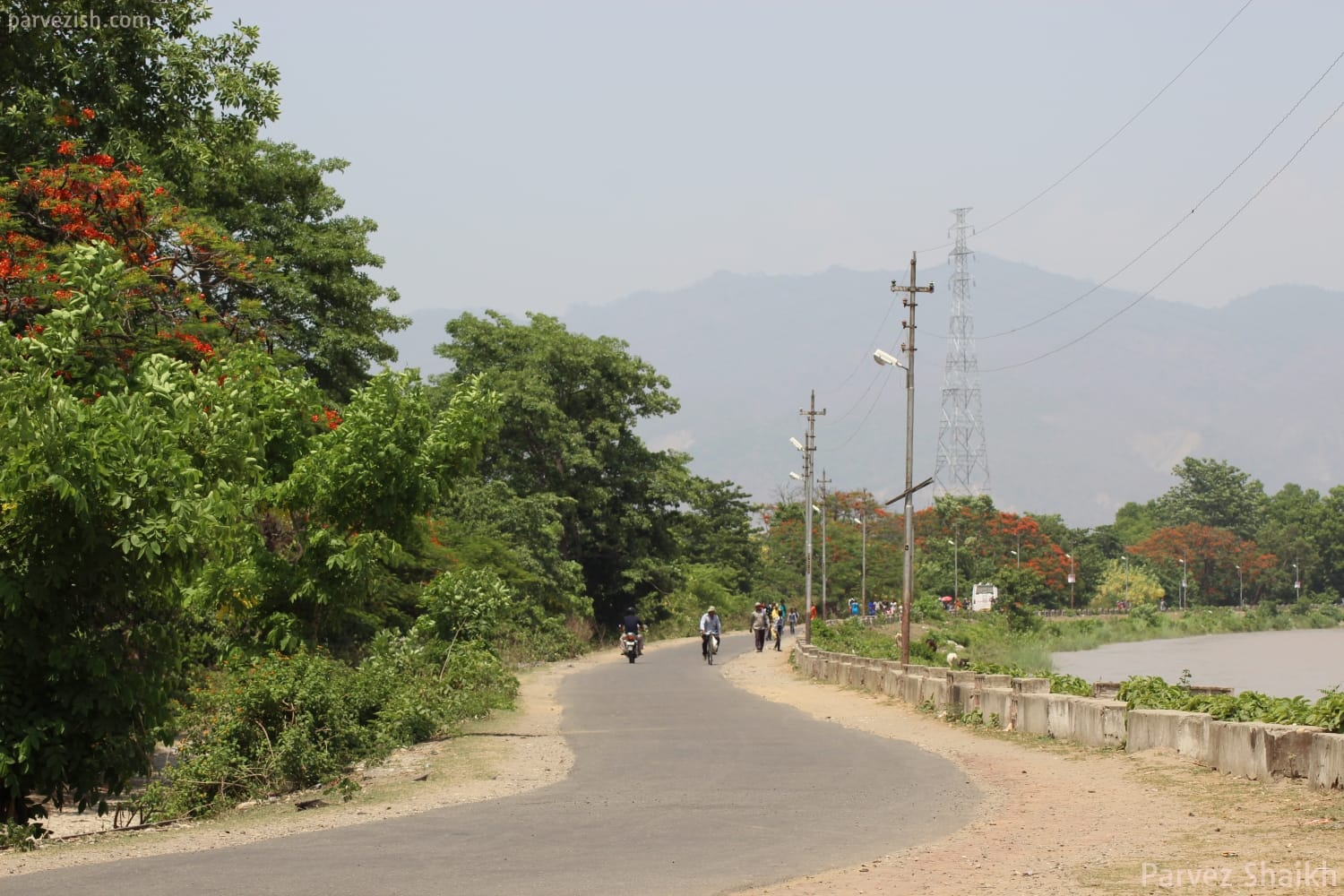 Entering Nepal on Foot from India