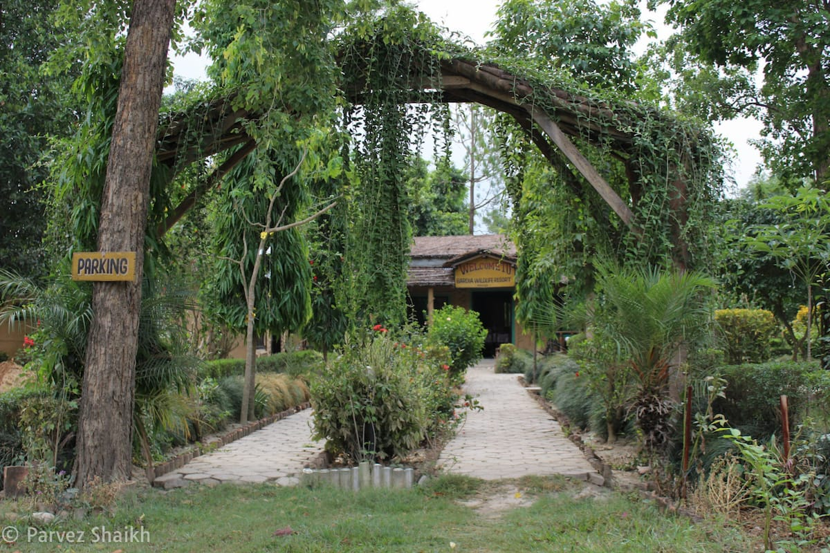 The Entrance of Bardia Wildlife Resort Nepal