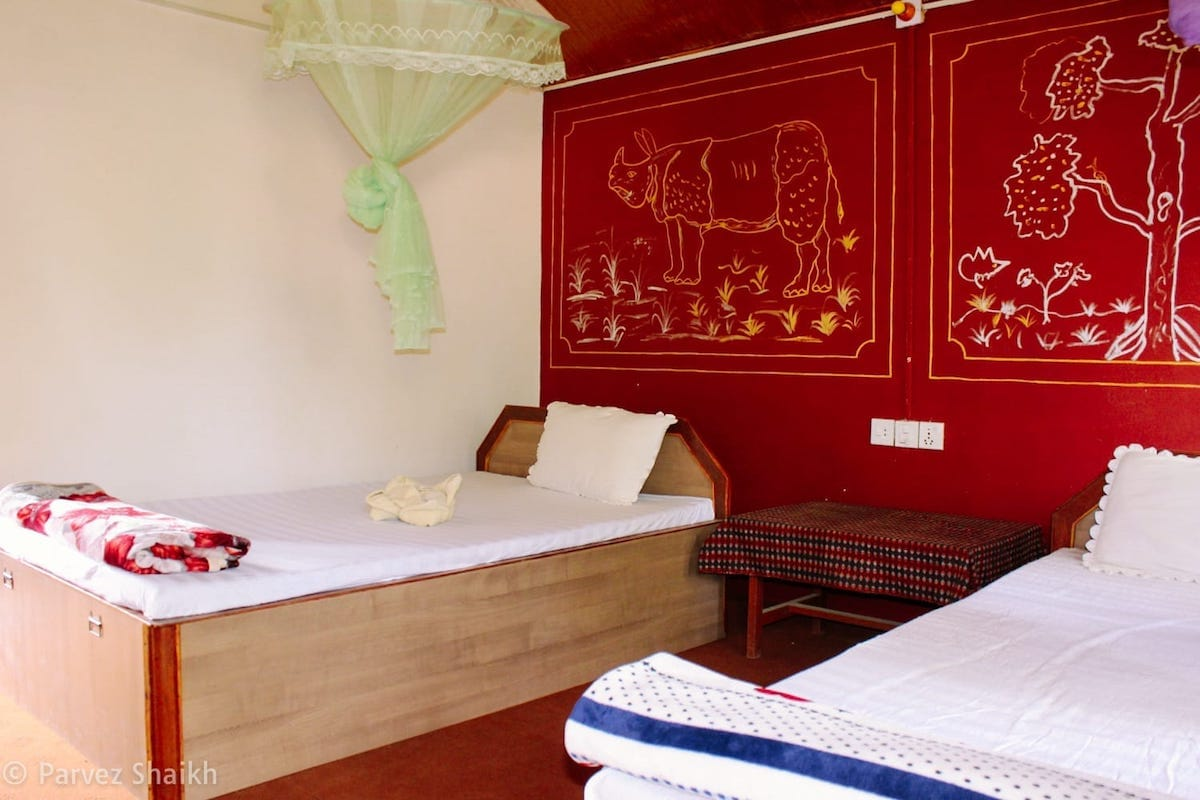 The Rhino Room at Bardia Wildlife Resort, Thakurdwara, Nepal
