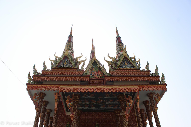 Cambodian Monastery Under Construction in Lumbini