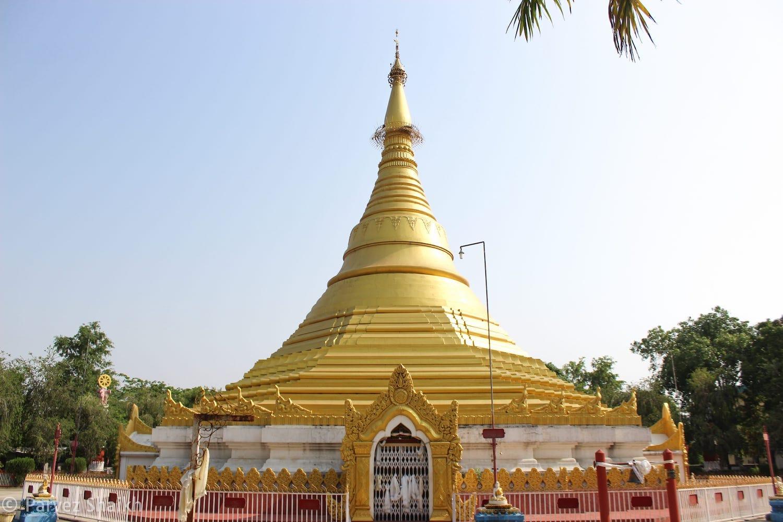 Myanmar Golden Temple Lumbini