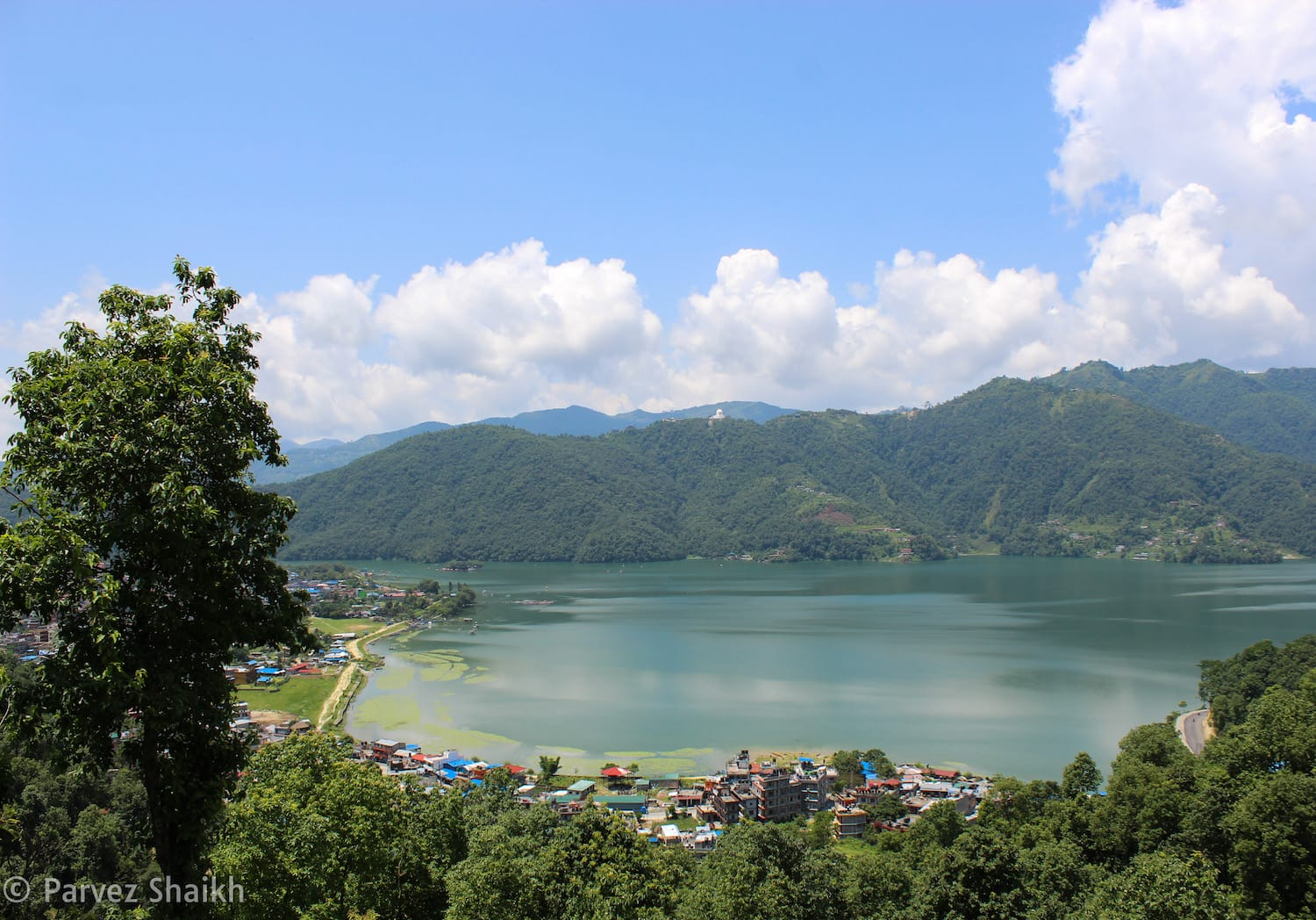 Phewa Lake As Seen from The Castle Resort Pokhara