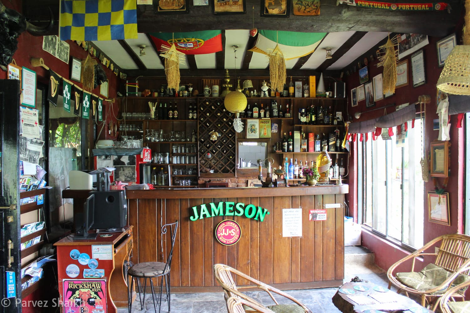 The Irish Pub at Castle Resort Pokhara