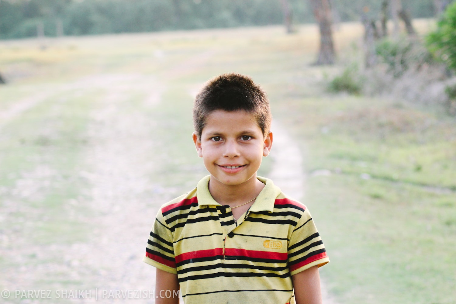 A Young Boy in Bardia Village, Nepal