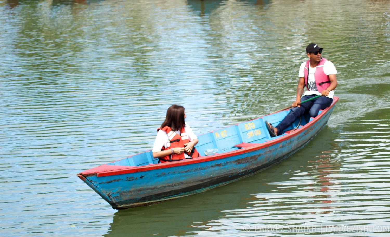 Boating in Phewa Lake - Pokhara Nepal