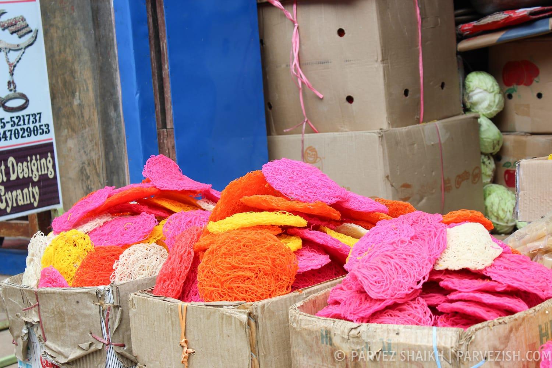 A shop selling Jhiniya Roti in Tansen Palpa Nepal