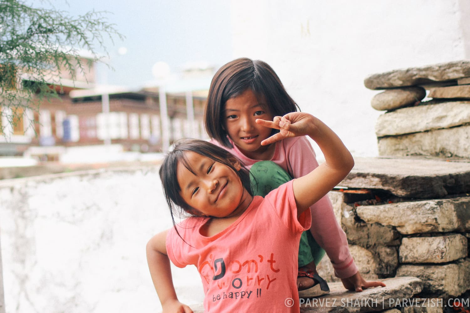 Bhutanese Kids in Paro