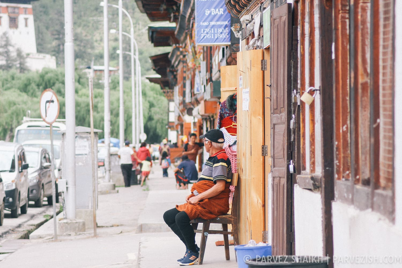 The Paro Town, Bhutan