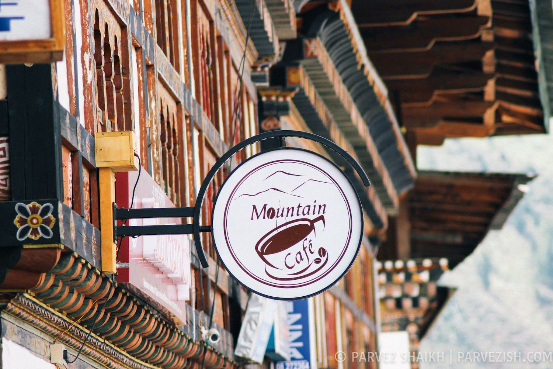 Mountain Cafe, Paro, Bhutan