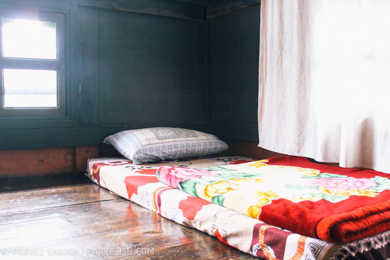 My Room at Tshering Farmhouse in Paro