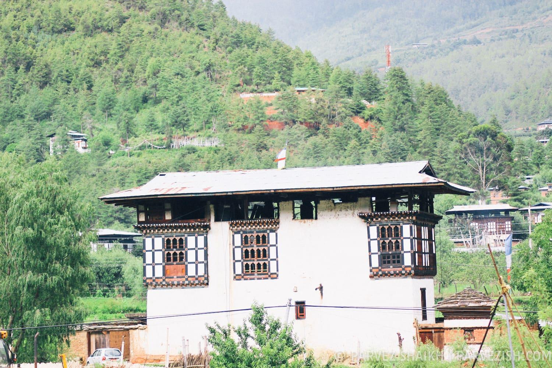 The Huge 100-year-old Farmhouse in Paro, Bhutan