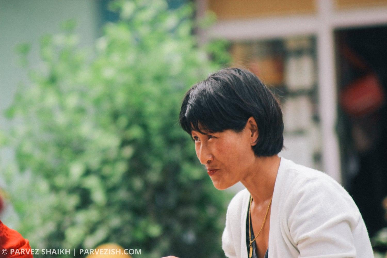 A Bhutanese Lady in Paro