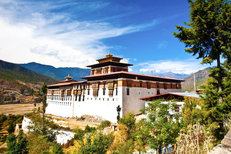 Rinpung Dzongkhag aka Paro Dzong Bhutan