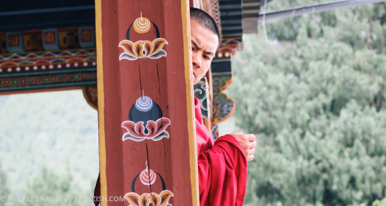 Faces of Bhutan: Photos of Bhutanese people busy in their daily activities