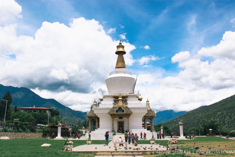Memorial Chorten Thimphu Bhutan