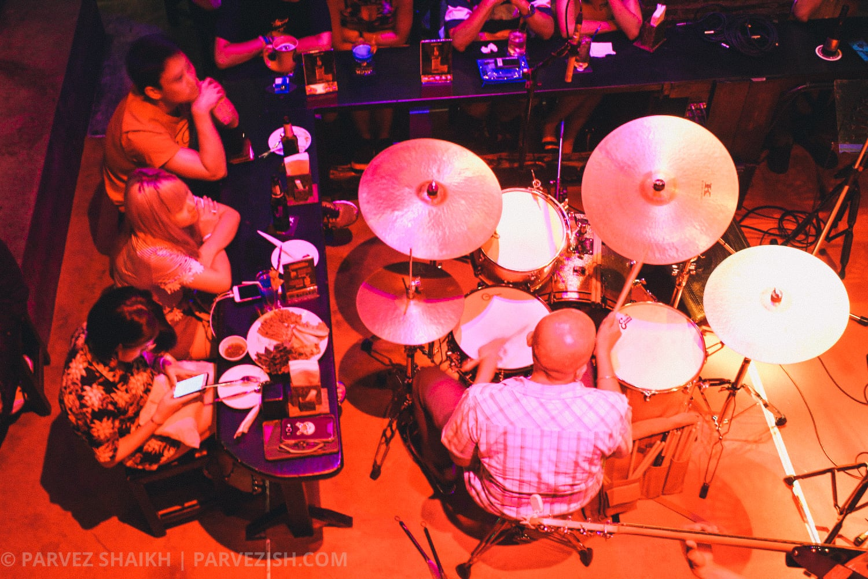 Performance at Saxophone Pub Bangkok