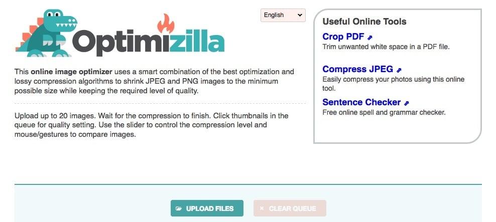 Optimizilla Free Image Compression