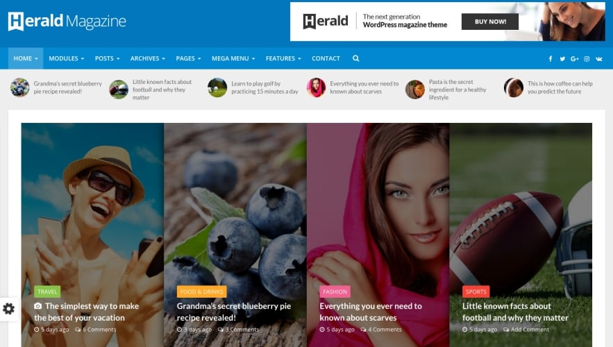 Download Herald WordPress Theme