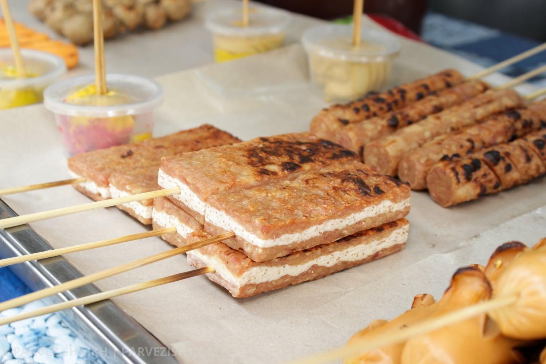 Food at a Ramadan Market Malaysia