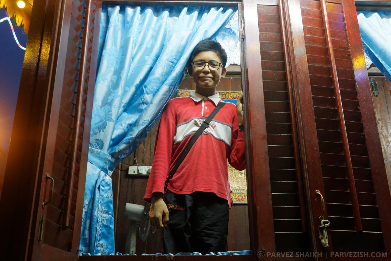 A Young Boy at Kampung Ketek