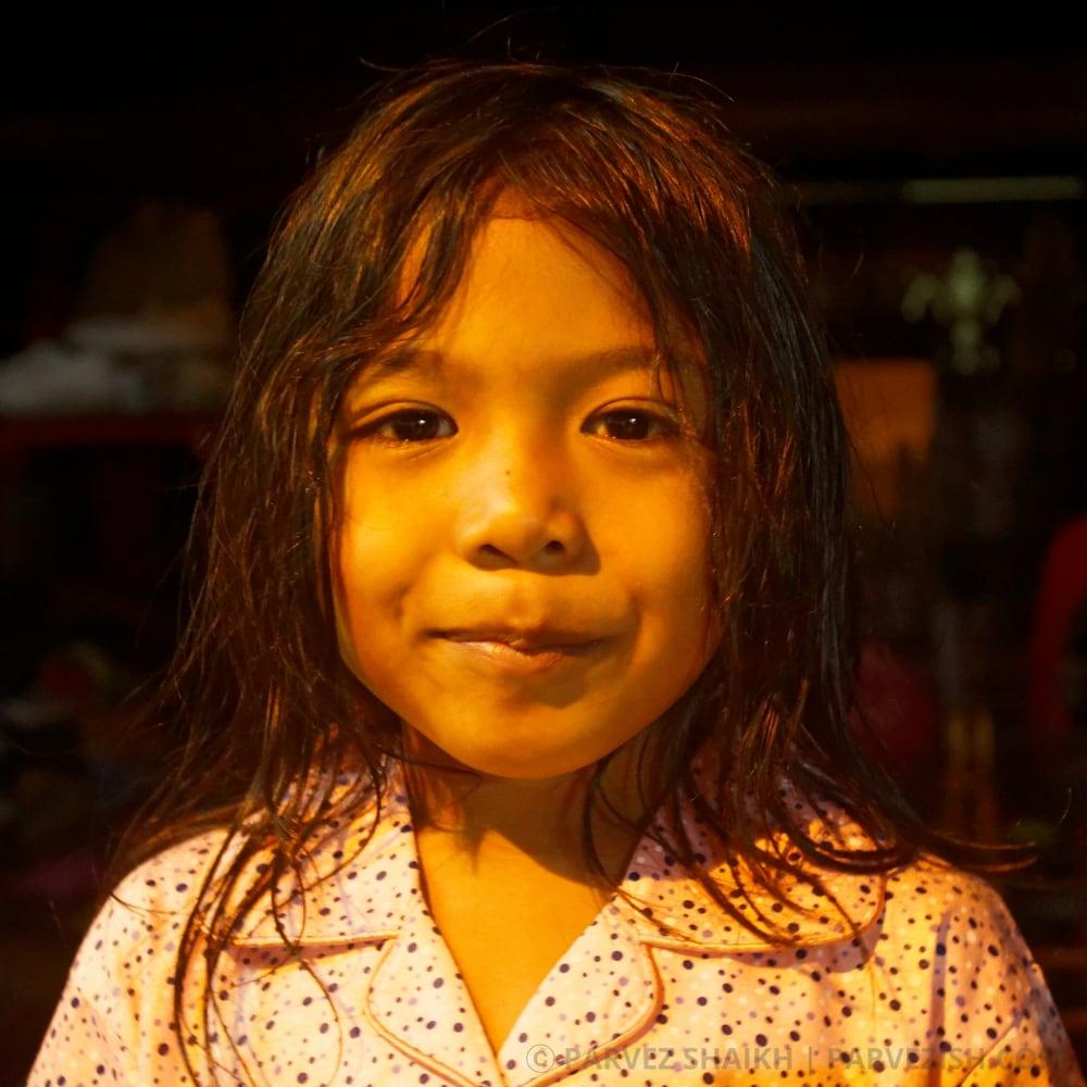A Young Girl at Kampung Ketek Malacca