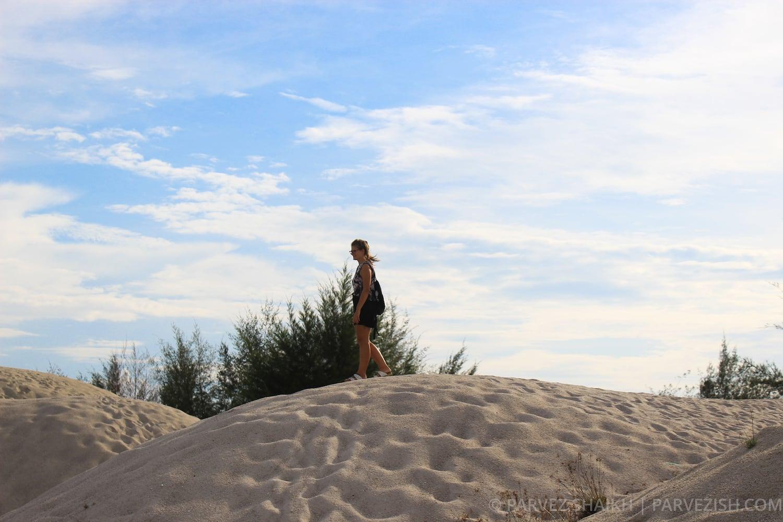 Sand Dunes in Malacca Malaysia