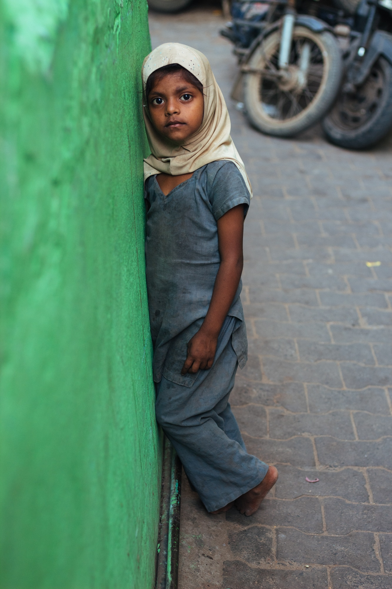 A young girl in Ajmer