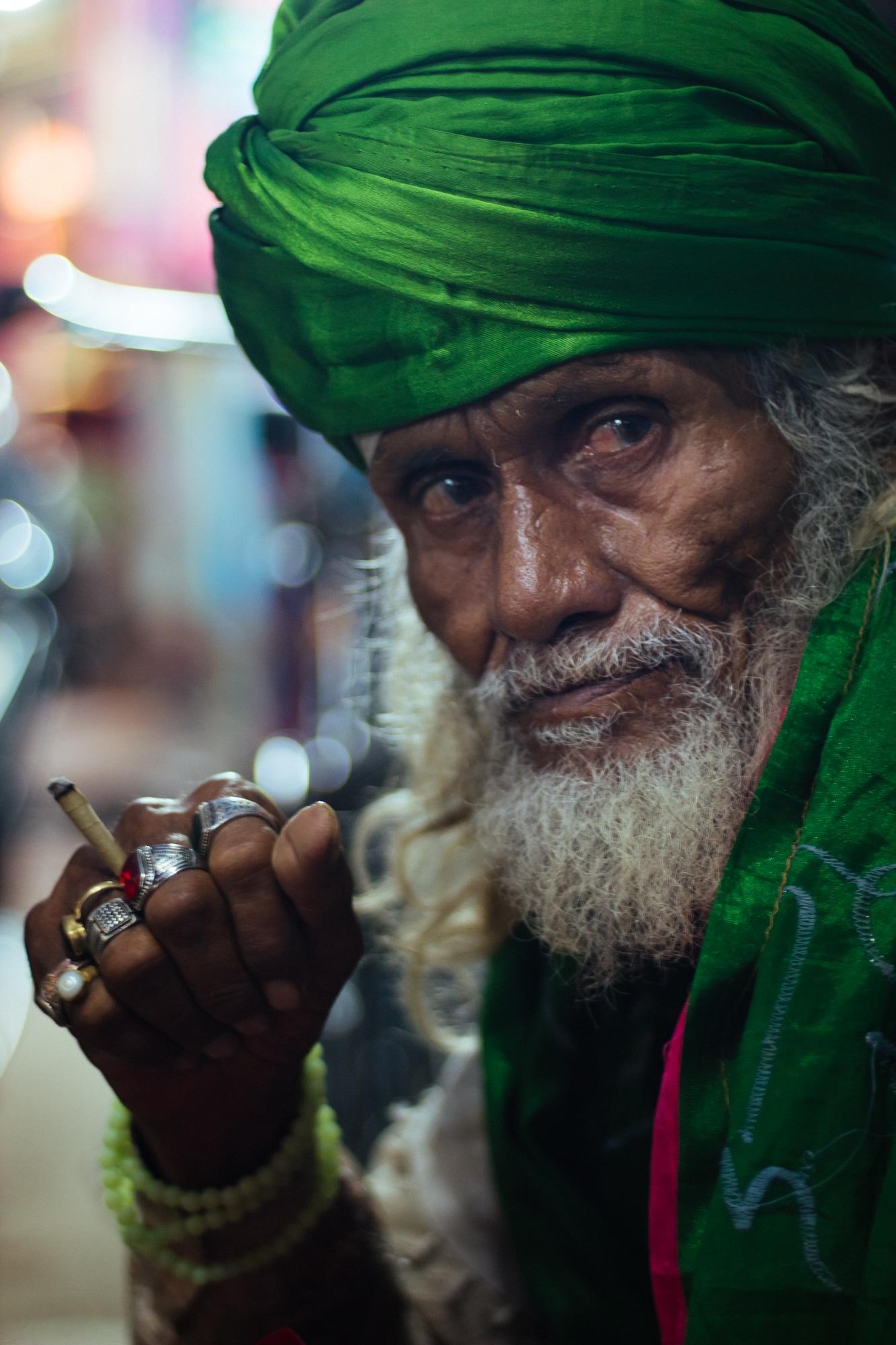 A mystic man in Ajmer
