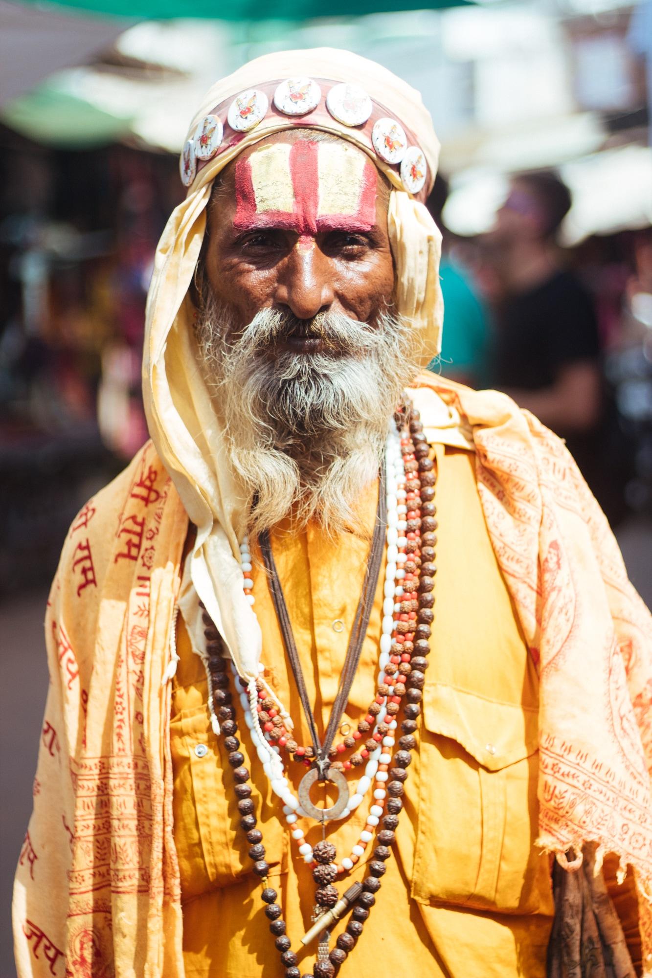 A sadhu in Pushkar