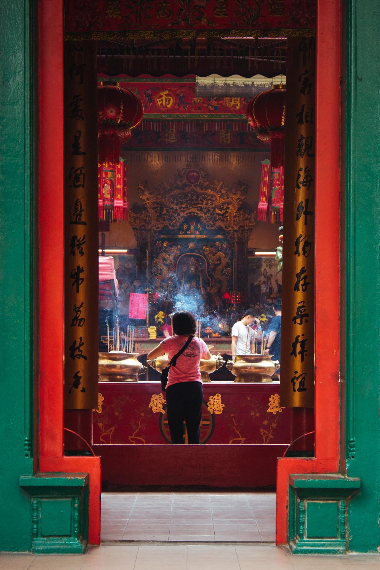 The Guandi Temple in Kuala Lumpur - II