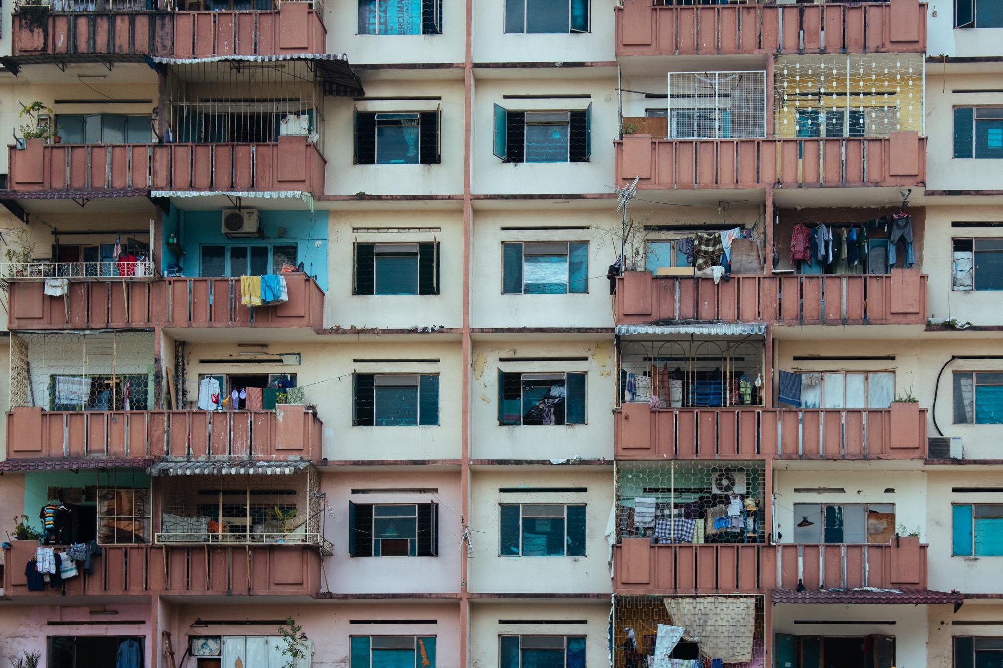 An apartment in Kuala Lumpur