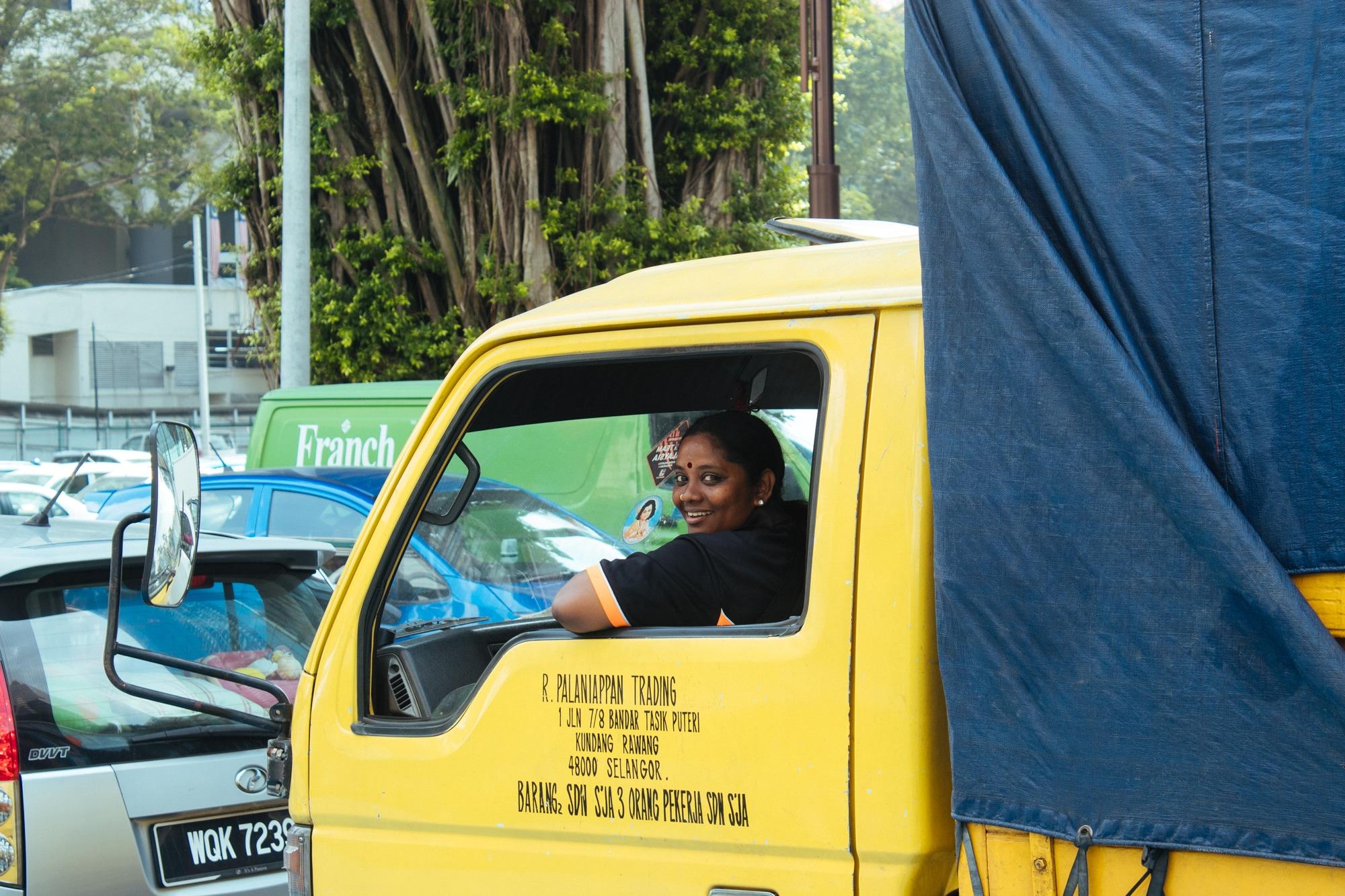 That woman in Kuala Lumpur - II