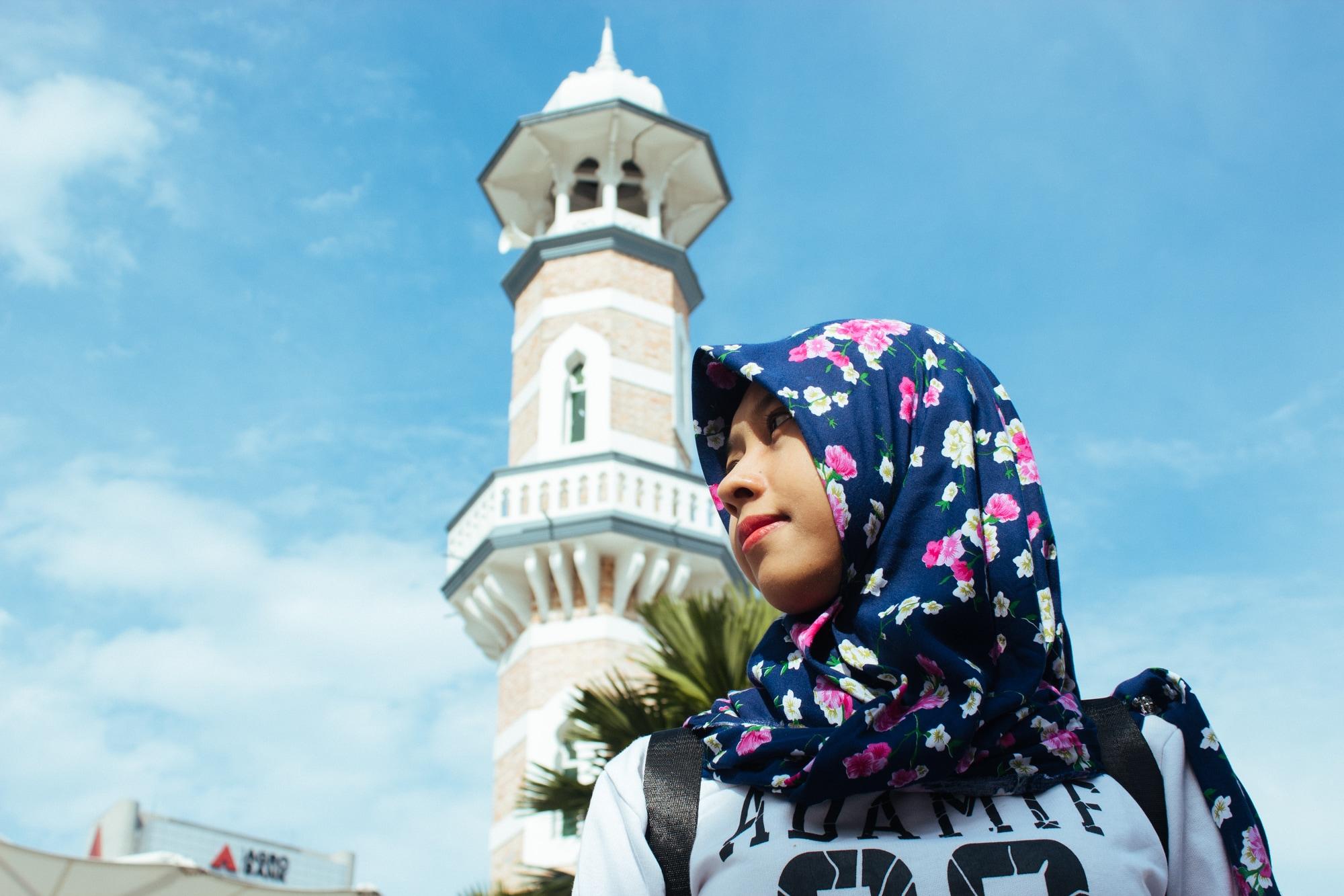 Celebrating Hari Raya at Masjid Jamek