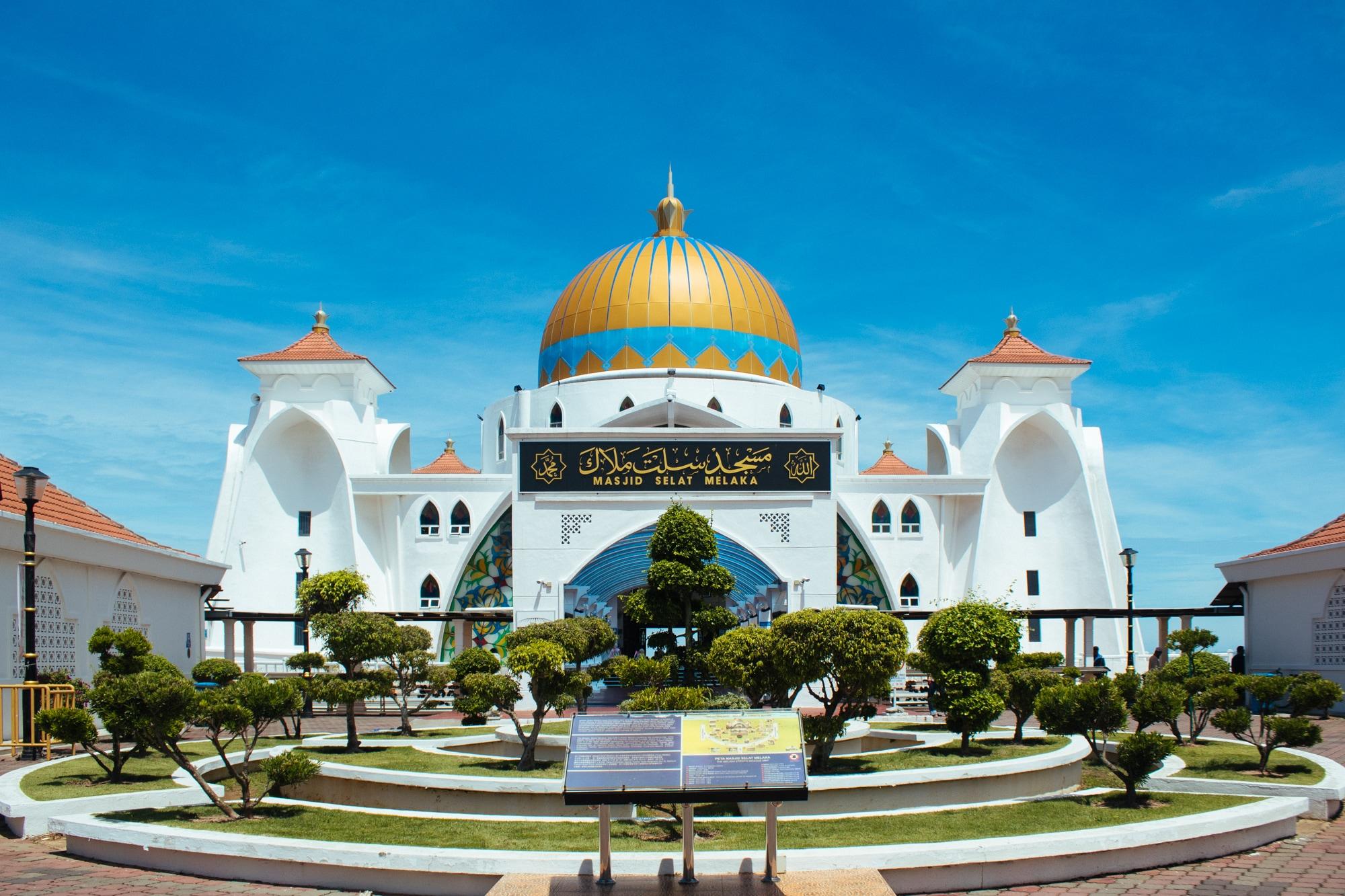 Melaka Straits Mosque aka Masjid Selat