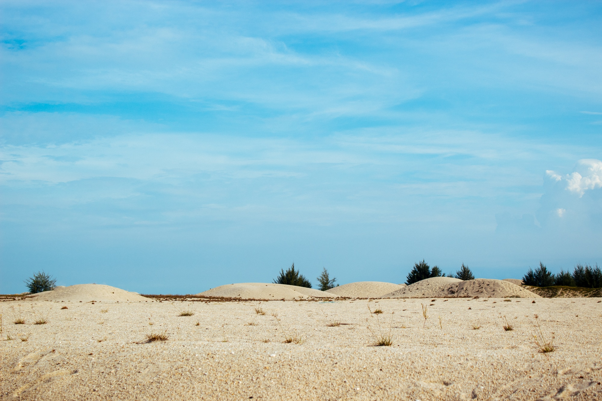 Sand dunes of Malacca