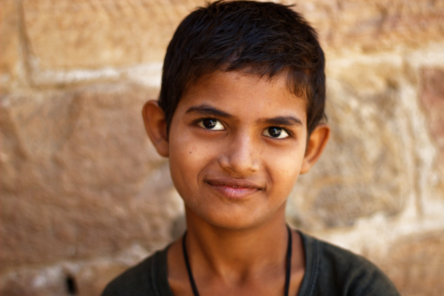 A Kid in Ajmer