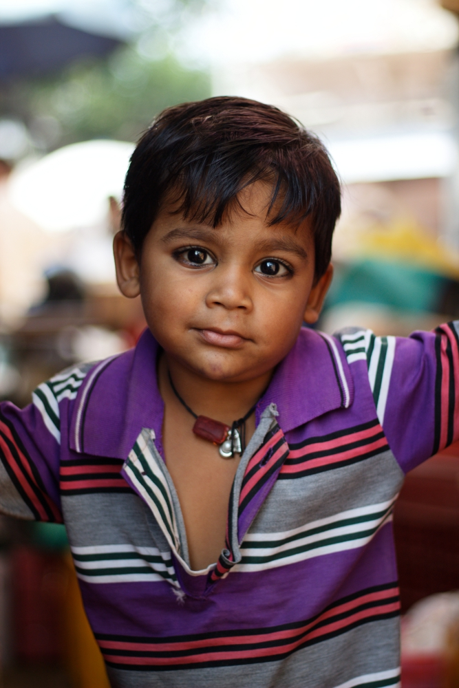 A Young Kid in Ajmer