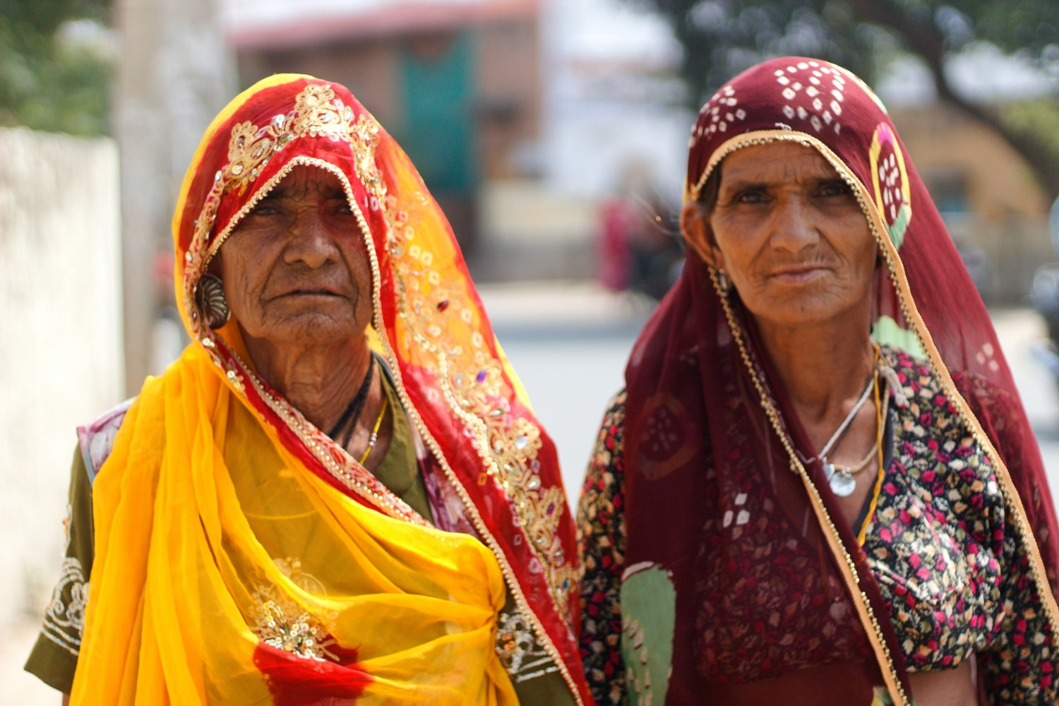 Two Ladies in Pushkar Rajasthan India