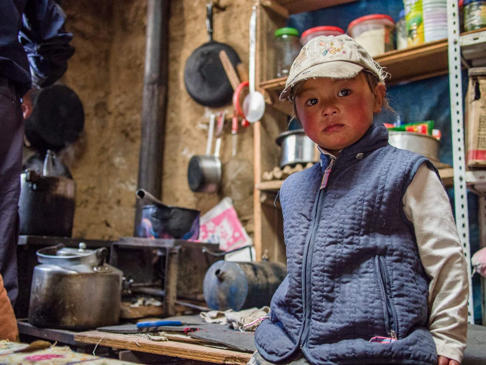 A Sherpa Kid in Nepal