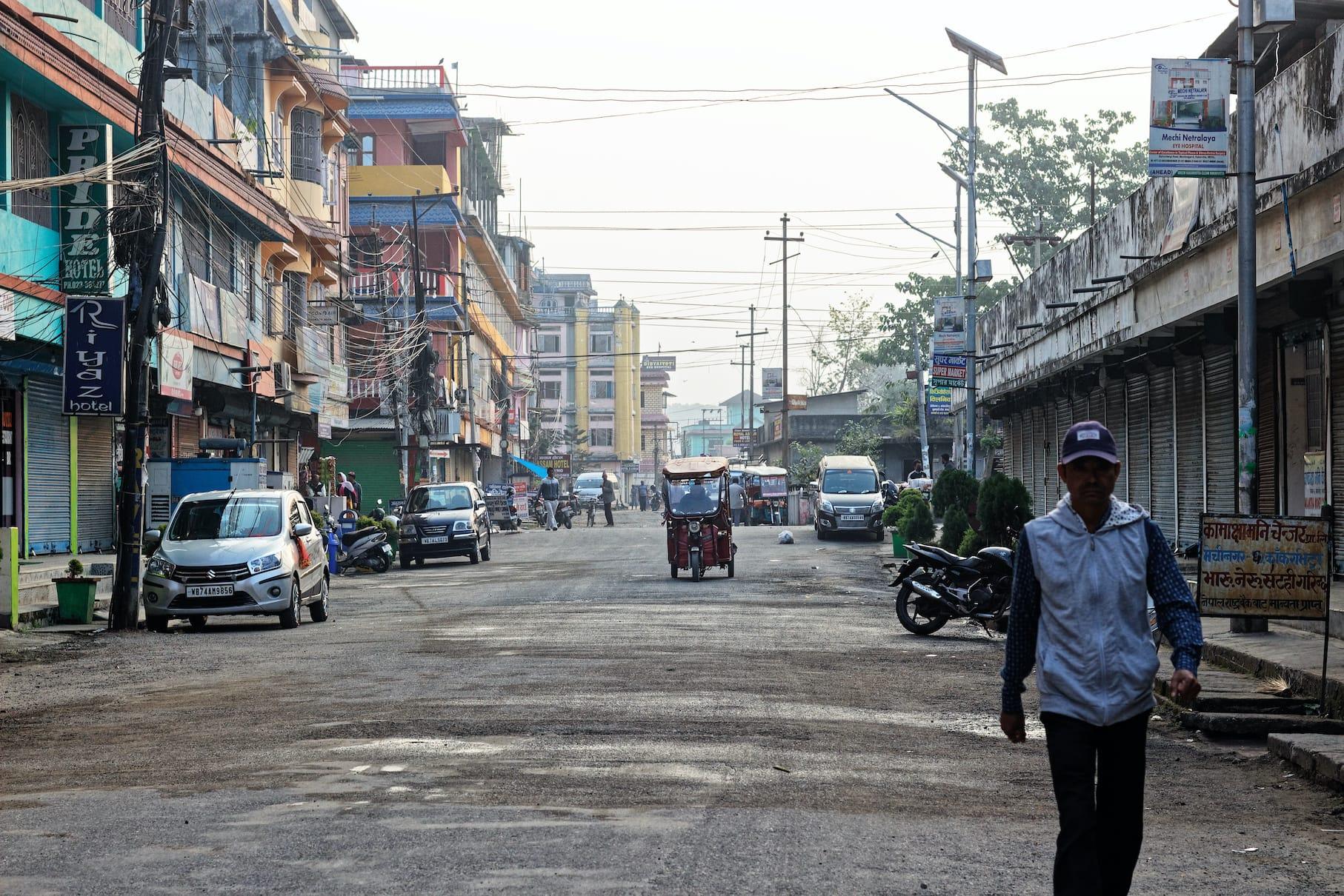 A Street in Kakarvitta Nepal