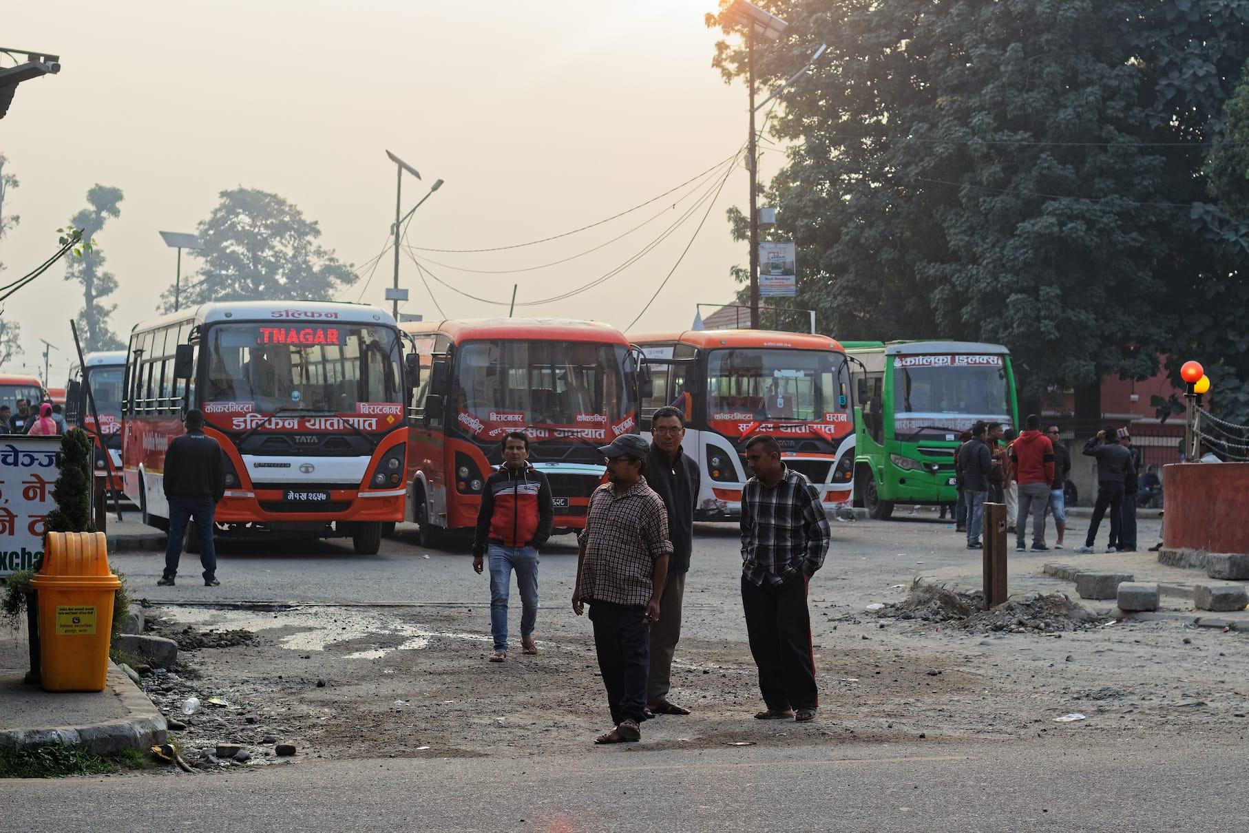 Kakarvitta Bus Park Nepal