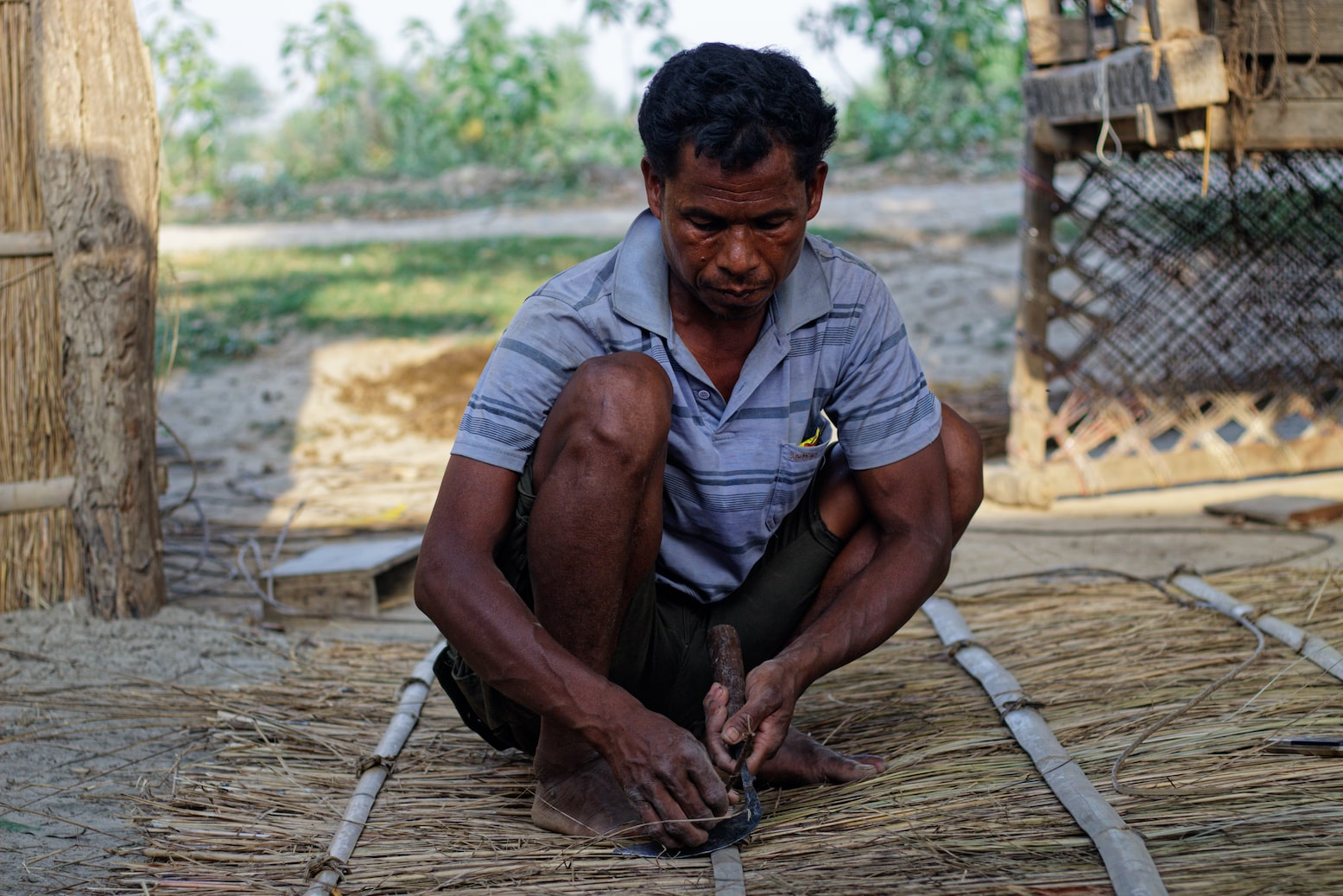 A Man in Bardiya Village